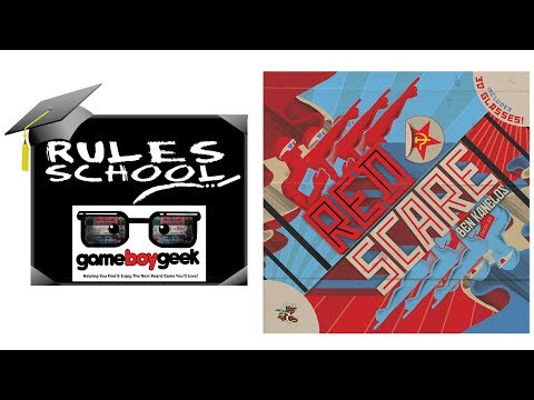 How to Play Red Scare (Rules School) with the Game Boy Geek