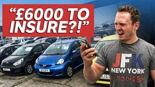 homepage tile video photo for £2000 First Car Challenge (Car + Insurance + Tax)
