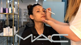 Full Face using MAC cosmetics | Maybelline New York colour contour
