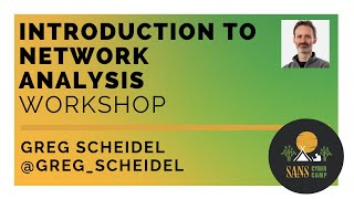 Introduction to Network Analysis Workshop - SANS Cyber Camp