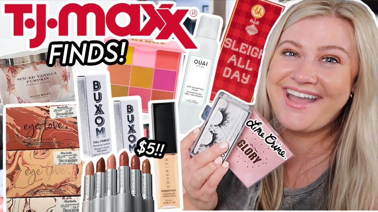 IS THIS TJ MAXX OR SEPHORA?! SO MANY GOOD MAKEUP FINDS AT TJ MAXX THIS WEEK!