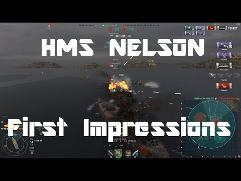 HMS Nelson [WiP] - First Impressions