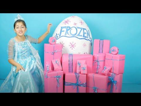 FROZEN ELSA BIRTHDAY MORNING PRESENTS OPENING!🎁🎂  Anna's Birthday Surprise FROZEN Surprise Toys