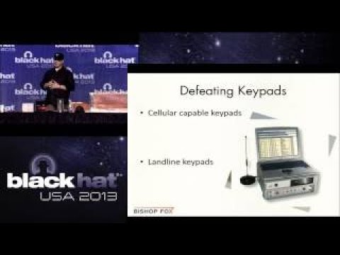 Black Hat 2017 Lets Get Physical: Breaking Home Security Systems and Bypassing Building C