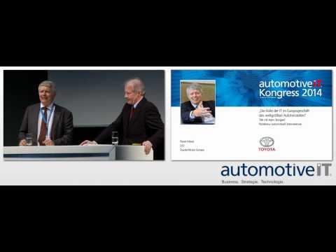 automotiveIT Kongress 2014 - Pierre Masai, CIO Toyota Motors Europe