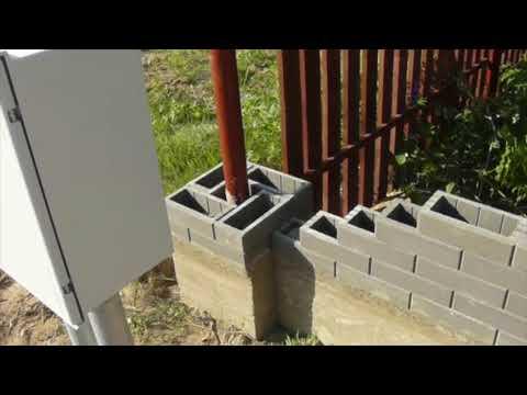 Забор из Т-блока 30 метров