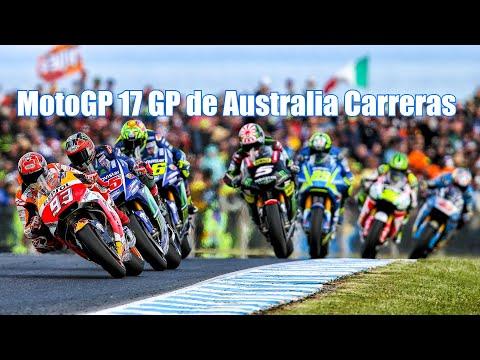 MotoGP 17 GP de Australia Carreras