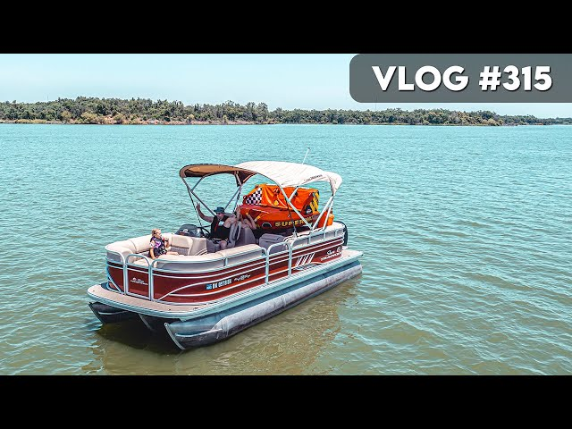 VLOG #315 / 1st LAKE DAY of the Year! / June 14, 2021