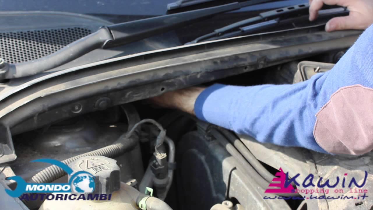 Come Sostituire Il Filtro Abitacolo Su Peugeot 307 Youtube