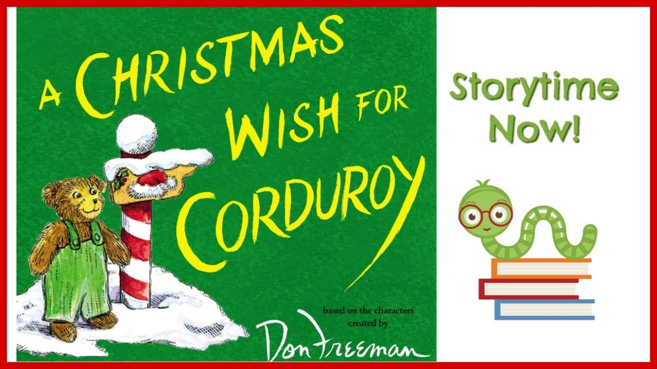 a christmas wish for corduroy by b g hennessy kids books read aloud