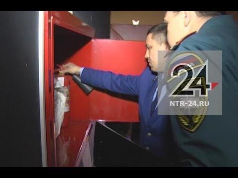 Проверяющие обнаружили захламленные пути эвакуации в кинотеатре «Джалиль»