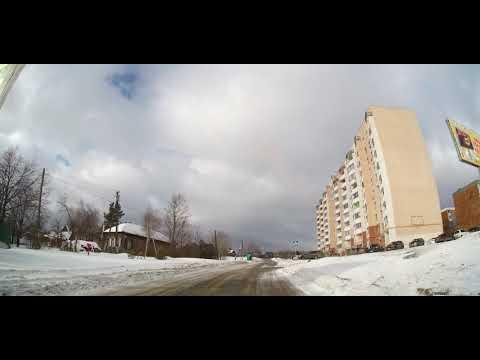 По улицам Вольска. Северный - Привольск - Клёны (АЦИ). 26 января 2020 г.