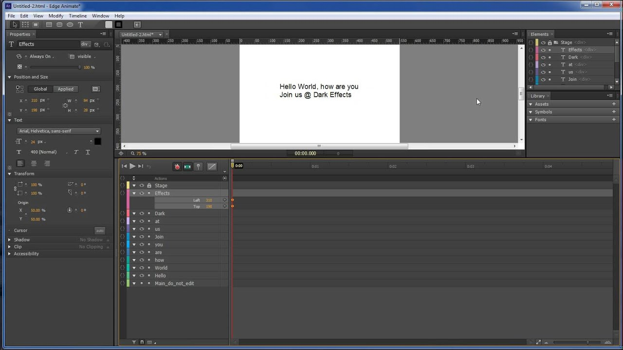 Adobe edge animate text animate in youtube adobe edge animate text animate in pronofoot35fo Image collections