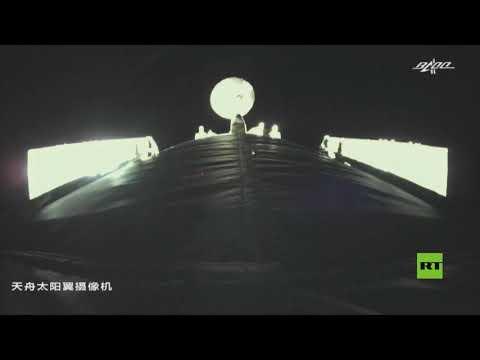 مركبة الشحن -تيانتشو -3- تلتحم بالمحطة الفضائية الصينية