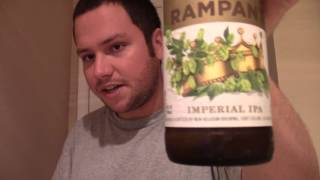 California beer reviews: new belgium rampant Imperial IPA