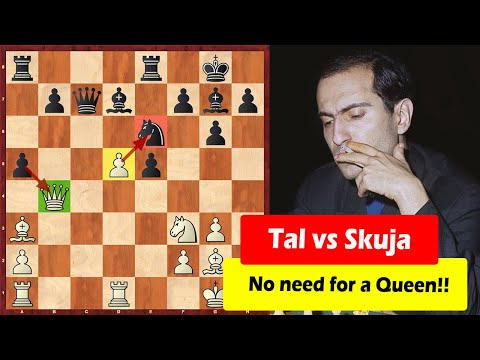 Mikhail Tal Needs No Queen