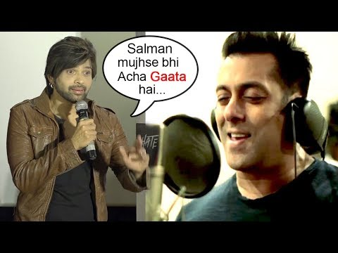 Himesh Reshammiya PRAISES Salman Khan's Singing At Aashiq Banya Aapne Remix Song Launch-Hate Story 4