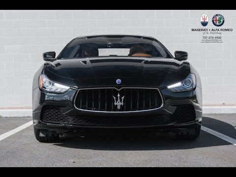 Overview 2017 Maserati Ghibli New Features Changes