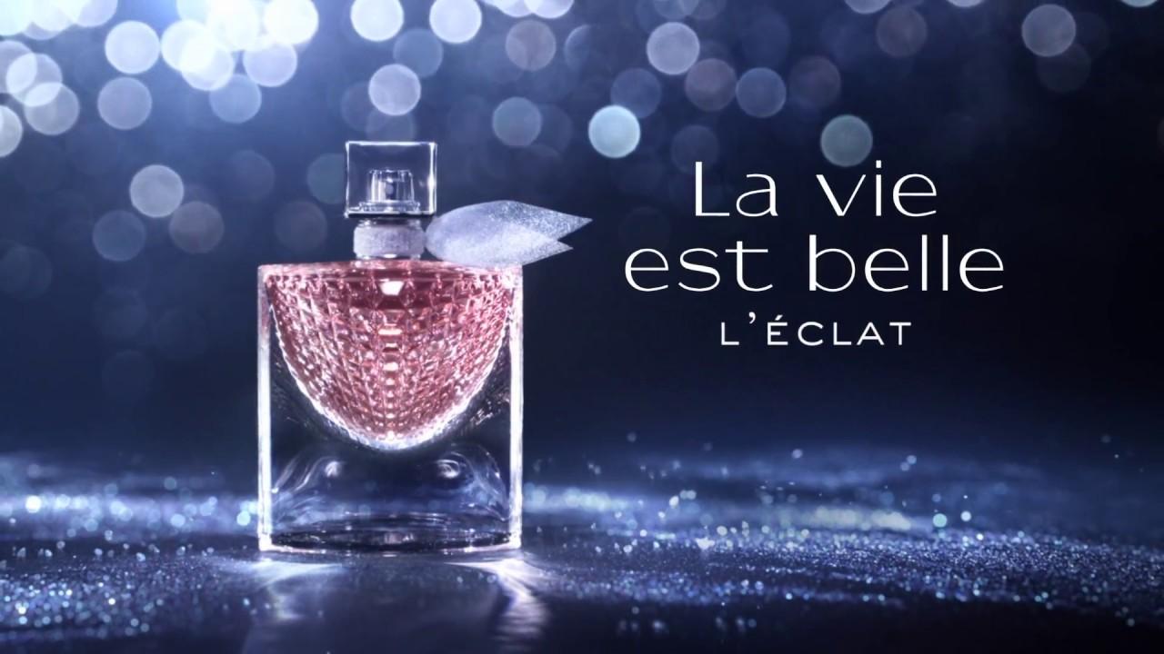 lanc me la vie est belle l 39 clat eau de parfum youtube. Black Bedroom Furniture Sets. Home Design Ideas