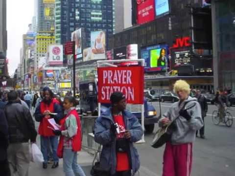 Prayer Stations at YWAM New York