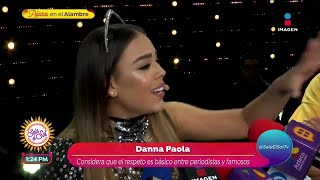 ¡Danna Paola le responde a Bel…