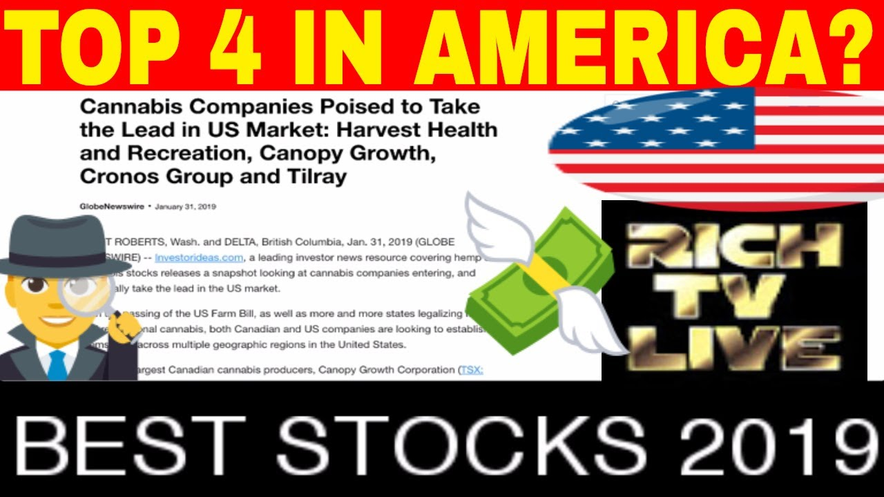 TOP 4 STOCKS TO INVEST IN AMERICA 2019