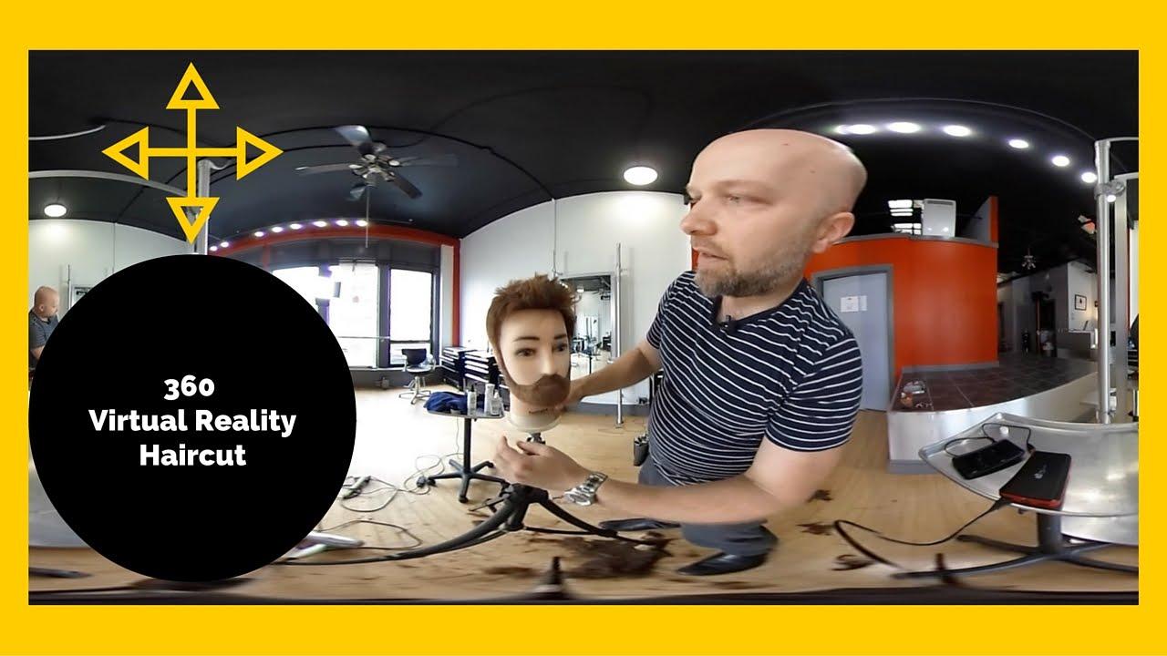 Worlds First Virtual Reality 360 Haircut - TheSalonGuy ...