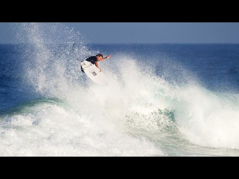 """Dane Reynolds Felt """"Out Of Control"""" On Maurice Cole's Speed-Focused Board"""