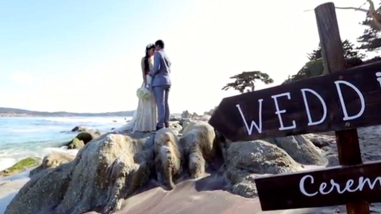Carmel Beach Wedding Highlight Video