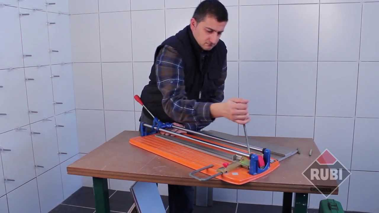 Rubi Ts Tile Cutter Ts 40 Ts 50 Ts 60 Youtube