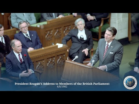 British Parliament: President Reagan's Address to Members of