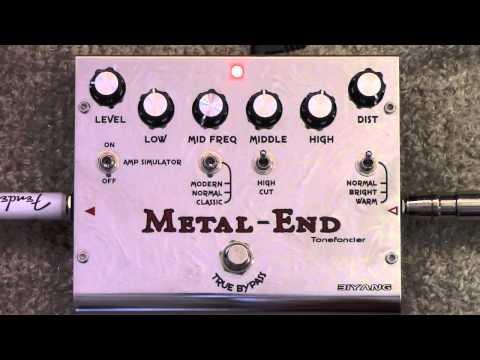 Biyang Metal End Distortion Pedal Demo