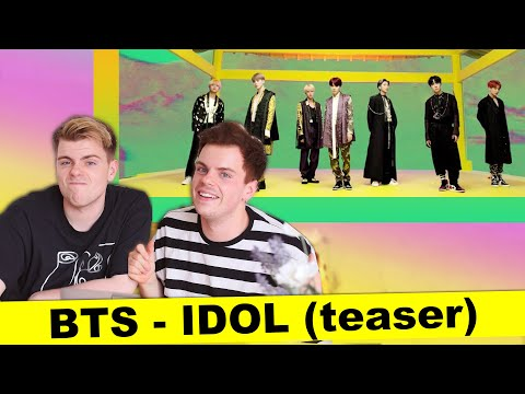 BTS (방탄소년단) 'IDOL' Official Teaser | REACTION | Niki And Sammy
