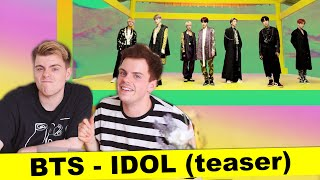 BTS (방탄소년단) 'IDOL' Official Teaser | REACTION | Niki and Sammy