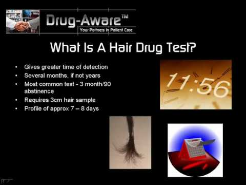 Hair Drug Test - YouTube