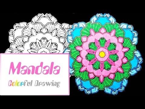 speed-coloring---coloriage-mandala-n°7-!
