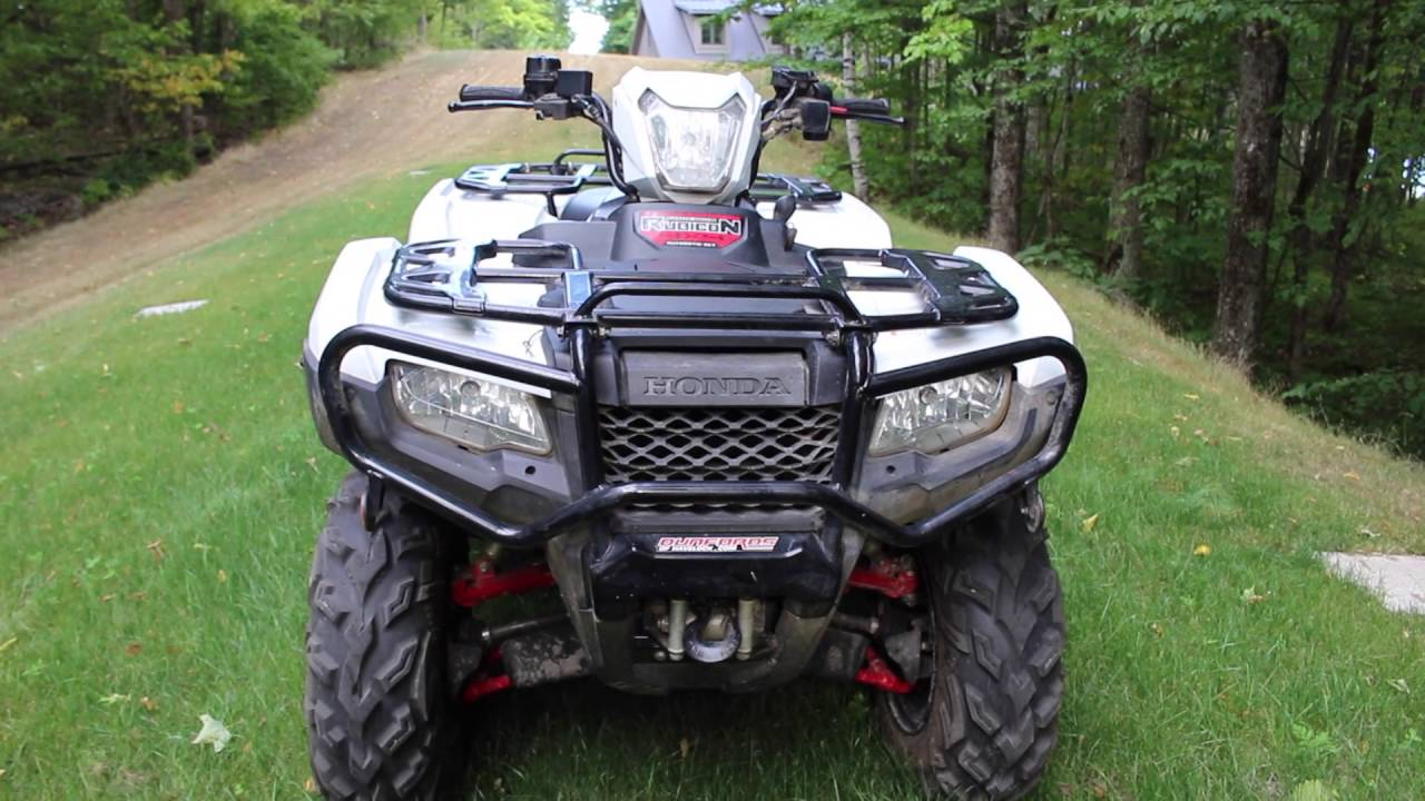 2015 honda foreman rubicon 500 review updated youtube. Black Bedroom Furniture Sets. Home Design Ideas