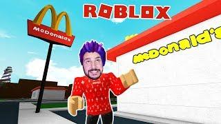 Roblox: KAAN BAUT HIS OWN MCDONALDS RESTAURANT WITH DRIVE-IN SCHALTER!