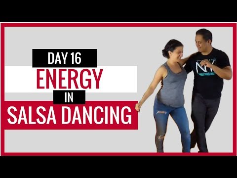 Video #16 My Salsa Online - Energy In Salsa Turns