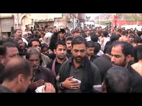 (Part-2) 9th Muharram 1436 2014-15 | Markazi Azadari-e-Hussain(as) Jaloos | Khewra,Pakistan |