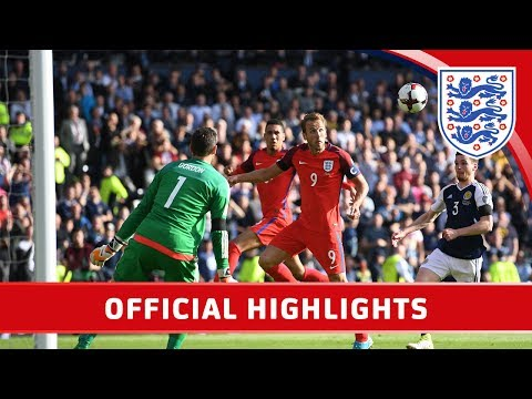 Save Scotland 2-2 England (2018 World Cup Qualifier) | Official Highlights Pictures