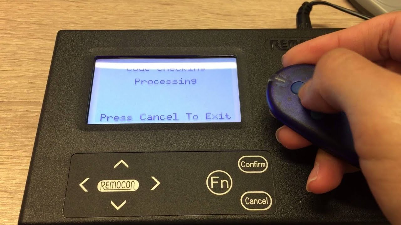 Identify a rolling code remote by HCD-900