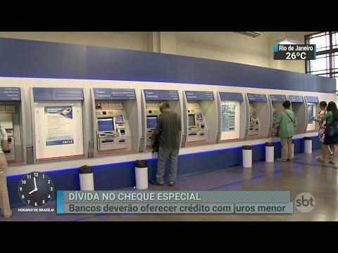 Bancos vão oferecer juros mais baixos para o cheque especial | SBT Brasil (11/04/18)
