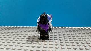 Lego Fortnite custom Raven Skin Minifigure