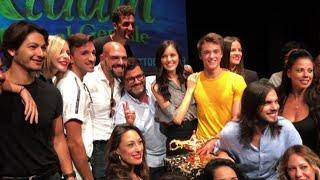 """A Roma il musical """"Aladin"""", con Leonardo Cecchi ed Emanuela Rei"""