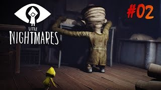 Little Nightmares Walkthrough Gameplay #02 Chapter 2 - The Lair