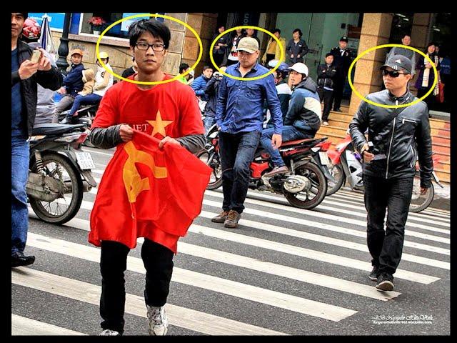 Những trò phá hoại lễ tưởng niệm Gạc Ma tại Hà Nội