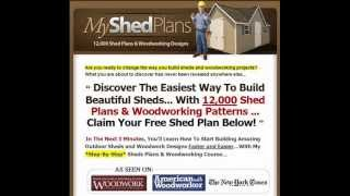 My Shed Plans Free Download
