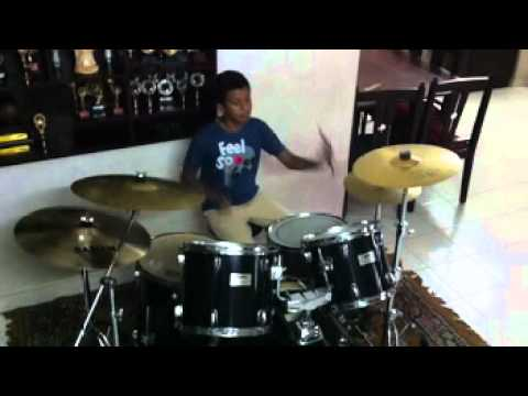 11 years old Floyd's practice session at home (Jam Drum School kochi)
