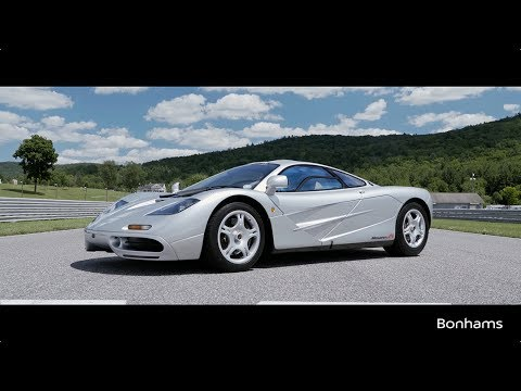 The 1995 McLaren F1 - The Ultimate Road Car Joins Quail Lodge Auction
